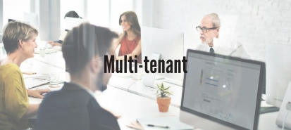 Optimize management effort and costs with the multi-tenant architecture